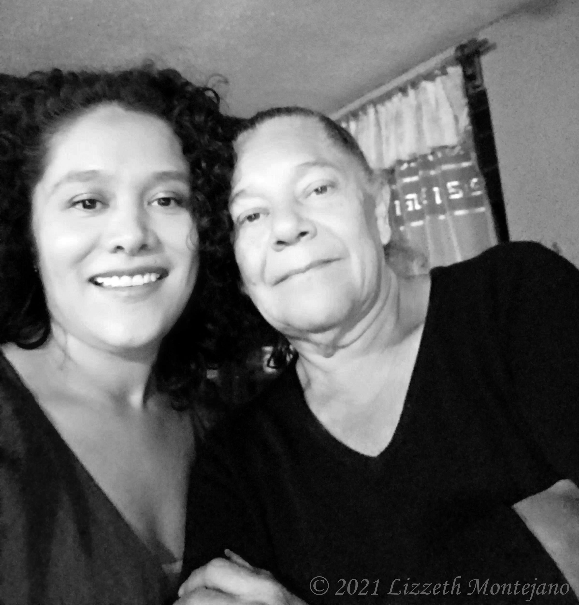 My Aunt and I during Christmas 2019 in San Luis Potosí.